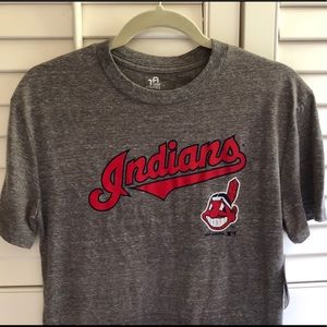 Other - 🎁 NWT boys (14-16) gray Cleveland Indians tee⚾️